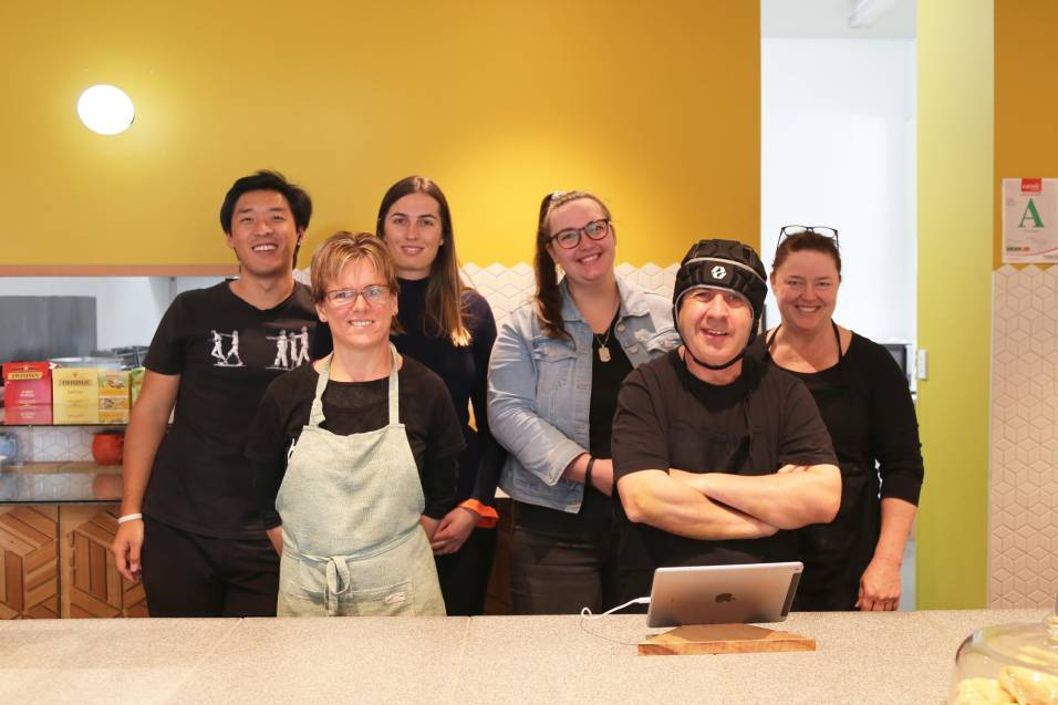 Creating opportunities at the Te Tuhi café