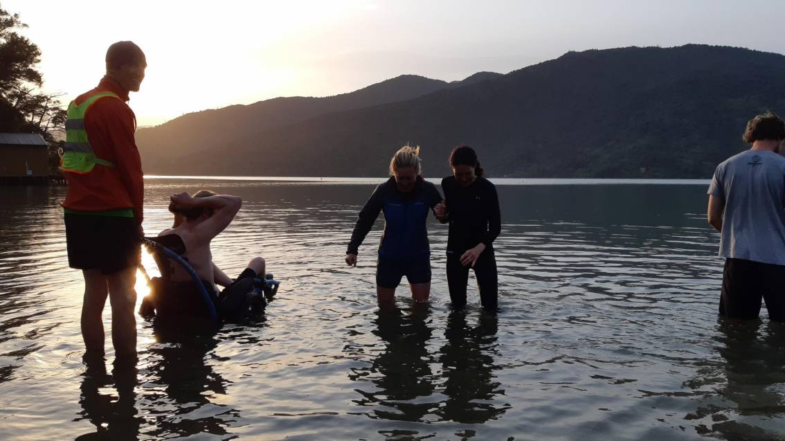Taking that leap with Outward Bound